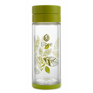 Libre Large Lively Leaves Tea Glass
