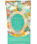 Pacifica Coconut & Sugared Flower Deodorant Wipes