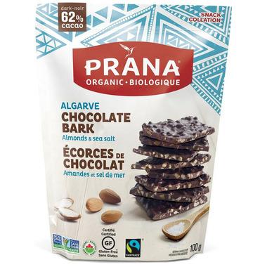 PRANA Algarve Chocolate Bark With Almonds & Sea Salt