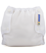 Mother ease Air Flow Diaper Cover White