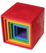 Grimm's Large Multi-Coloured Stacking Boxes