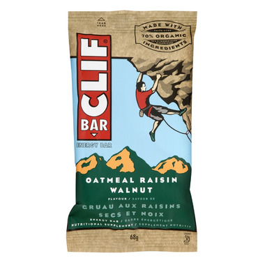 Clif Bar Oatmeal Raisin Walnut Energy Bars