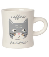 Now Designs Mug Diner Coffee Meow