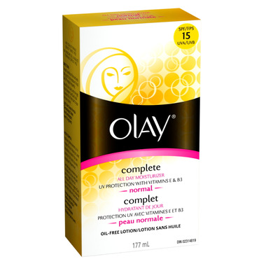 Olay Complete All Day UV Moisturizer SPF 15 - Normal Skin