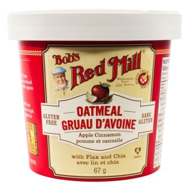 Bob\'s Red Mill Apple Cinnamon Oatmeal Cup