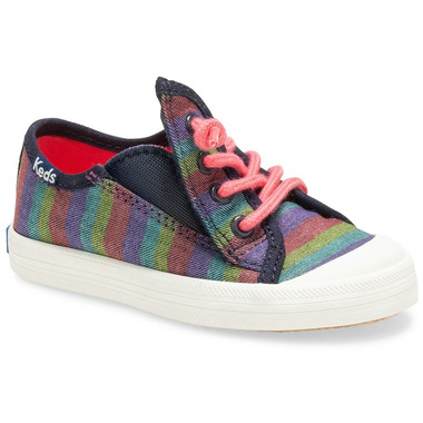 Keds Little Kids Kickstart Toe Cap Jr. Rainbow