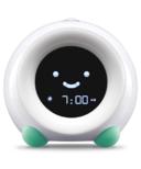 LittleHippo Mella Children's Sleep Trainer and Clock Tropical Teal