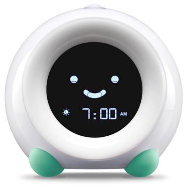 LittleHippo Mella Children\'s Sleep Trainer and Clock Tropical Teal