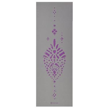 Gaiam 6MM Premium Yoga Mat Boho/Plum Impression