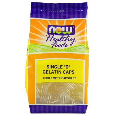 NOW Foods Single 0 Gelatin Caps