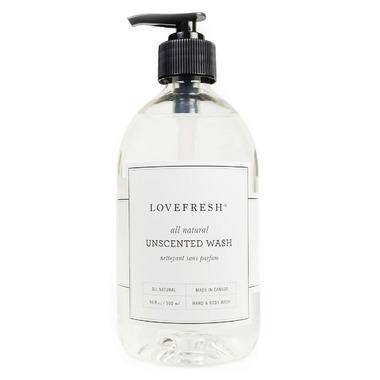 Lovefresh Unscented Hand & Body Wash