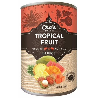 Cha\'s Organics Tropical Fruit In Juice