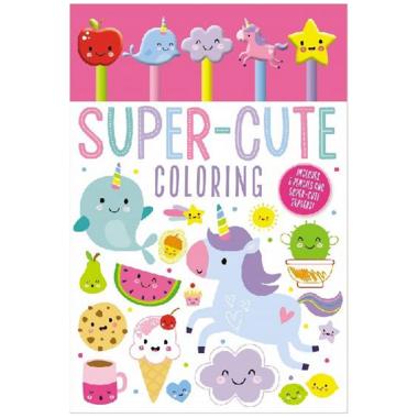 Make Believe Ideas Super Cute Coloring Set