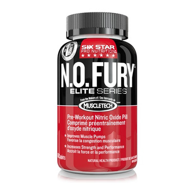 Six Star Pro Nutrition N.O Fury Caplets