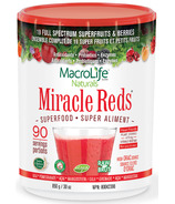 MacroLife Naturals Superaliment Miracle Reds Cardio antioxydant