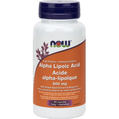 NOW Foods High Potency Alpha Lipoic Acid