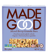MadeGood Mixed Berry Organic Granola Bars