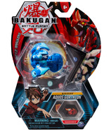 Bakugan Aquos Gorthion Collectible Action Figure and Trading Card