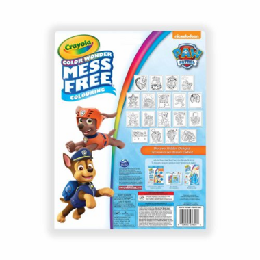 Crayola Color Wonder Mess Free Kit Paw Patrol