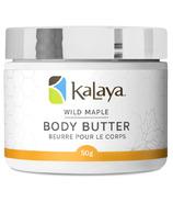 Kalaya Naturals Wild Maple Body Butter