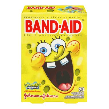 Band-Aid SpongeBob SquarePants Bandages