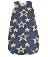 Perlimpinpin Chenille Sleep Bag Navy Stars