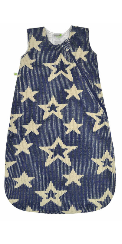 64dbc6736c Buy Perlimpinpin Chenille Sleep Bag Navy Stars from Canada at Well.ca -  Free Shipping