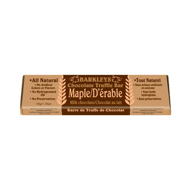 Barkley\'s All Natural Maple Chocolate Truffle Bar