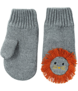 ZOOCCHINI Baby Knit Mittens Leo the Lion