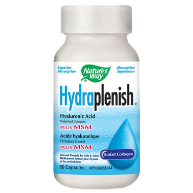 Nature\'s Way Hydraplenish Hyaluronic Acid with MSM
