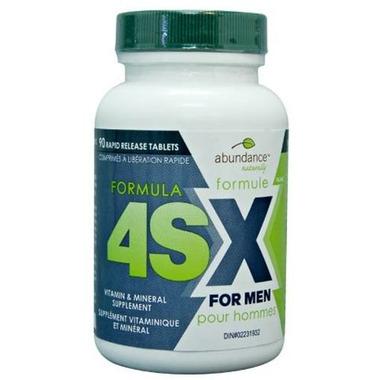 Abundance Naturally Formula 4SX for Men