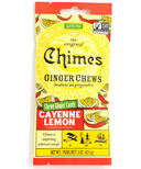 Chimes Ginger Chews Cayenne Lemon