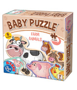 D-TOYS Farm Animals Baby Puzzle