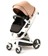 Milkbe Lullaby Self-Stopping Stroller Gold