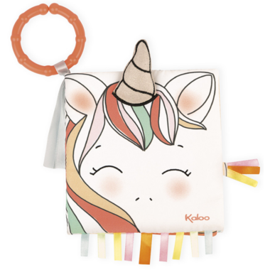 Kaloo The Happy Unicorn Soft Activity Book