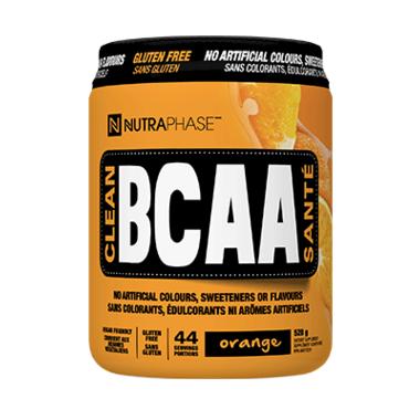 NUTRAPHASE Clean BCAA Orange