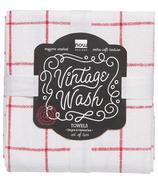 Now Designs Tea Towel Vintage Wash Poppy