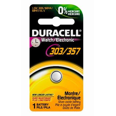 Duracell 303/357 1.5V Watch Battery