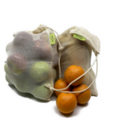Tru Earth Reusable Cotton Mesh Produce Bag Set
