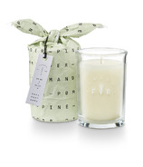 Illume Pomander Pine Frost & Fir Bundled Glass Candle