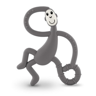 Matchstick Monkey Dancing Monkey Teether Grey