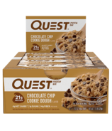 Quest Nutrition Protein Bar Chocolate Chip Cookie Dough Case