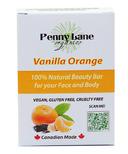 Penny Lane Organics 100% Natural Beauty Bar Vanilla Orange