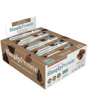 Simply Protein Bars Double Chocolate Case