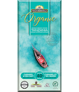 Waterbridge Organic Caramel & Sea Salt Milk Chocolate 40% Cocoa