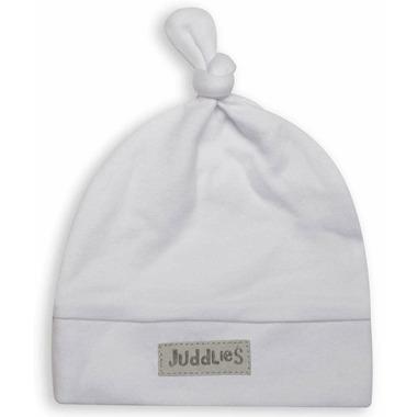 Juddlies Newborn Cap White