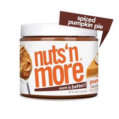 Nuts n More Protein Spiced Pumpkin Pie Peanut Spread
