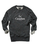 Province of Canada Le Canadien Mens French Terry Crewneck Charcoal