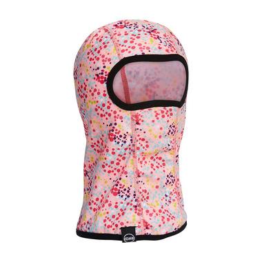 Kombi Snuggly Fleece Balaclava Children Dotty Glass Pink