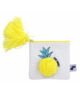 Yoobi Pom-Pom Coin Purse Pineapple